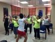 La entrenadora Viviana Vivar de Exercise Metropolitan Club visita Oncoserv Santiago para impartir una clase de Zumba a las pacientes miembros de nuestro Grupo de Apoyo Nueva Vida