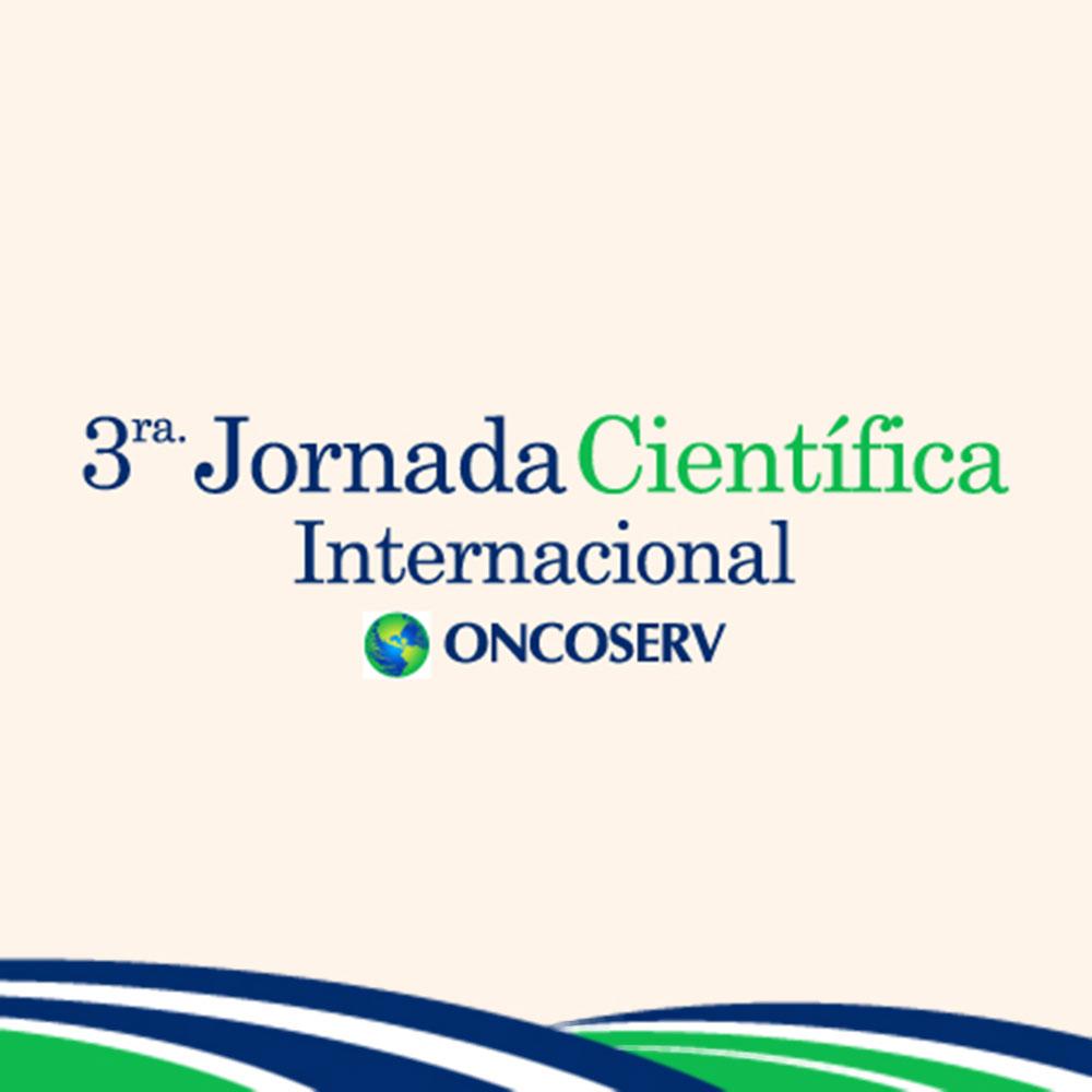Logo de la 3ra. Jornada Científica Internacional Oncoserv